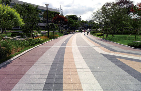 Pearmeable-Pavers-Application-Urban | Hydropavers